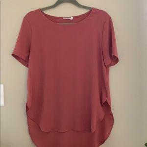 Lush high low blouse